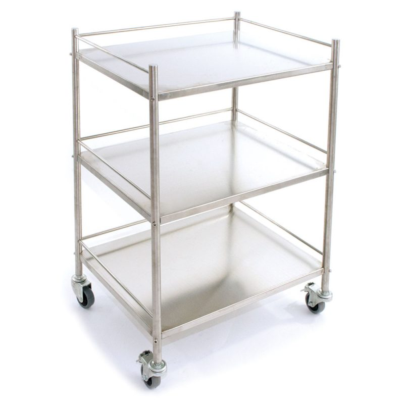 Reliance Medical Surgical Trolley First Aid Room Code Red